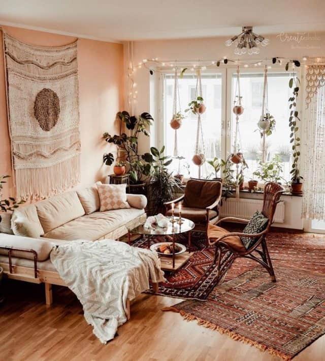 19 super cozy boho living room ideas you'll love  her
